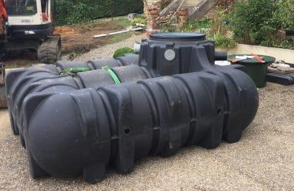 Cuve récupérateur d'eaux de pluie