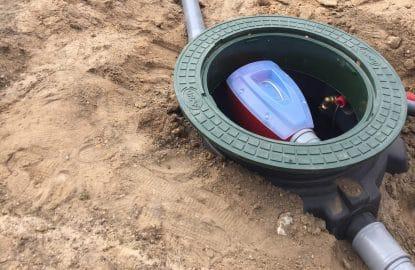 Système de filtration avant stockage des eaux dans le récupérateur d'eau pluviale